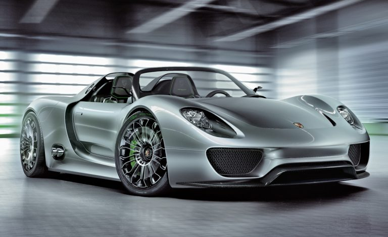 How Much Does A Porsche 918 Spyder Cost?