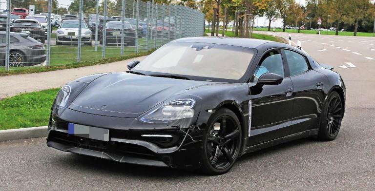 Porsche Taycan Spy Photos and Videos