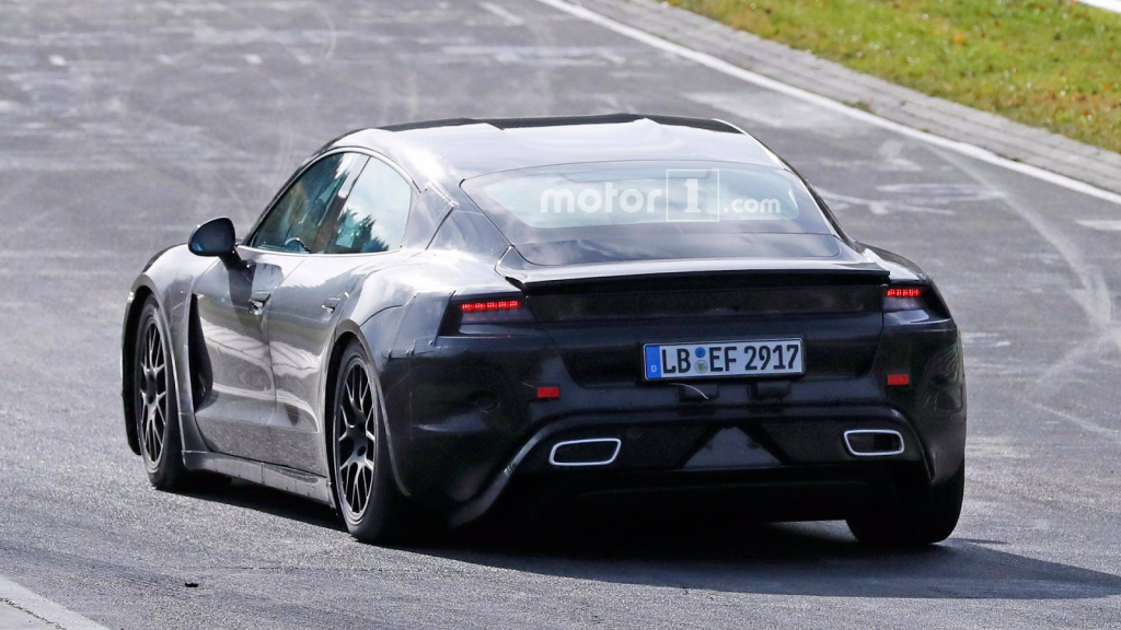 2020 Porsche Taycan Rear End